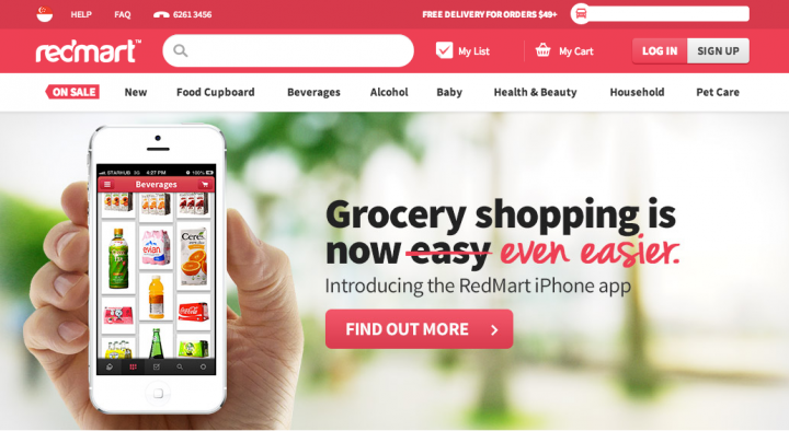 Redmart's E-Commerce Online Store